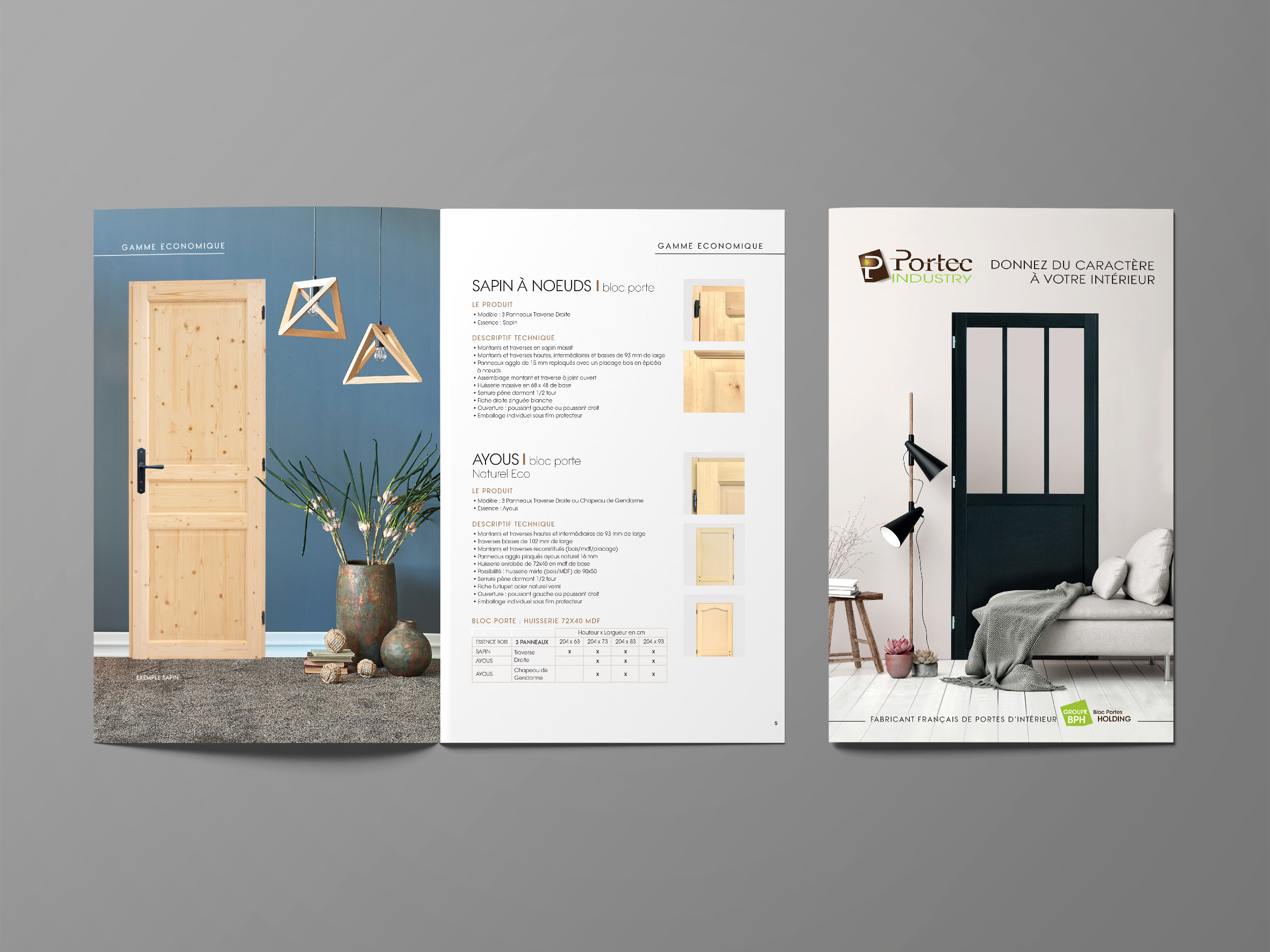 Catalogue Portes Industry